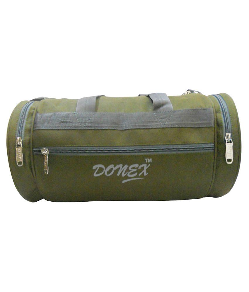 Donex / Small Travel - Green Gym Bag