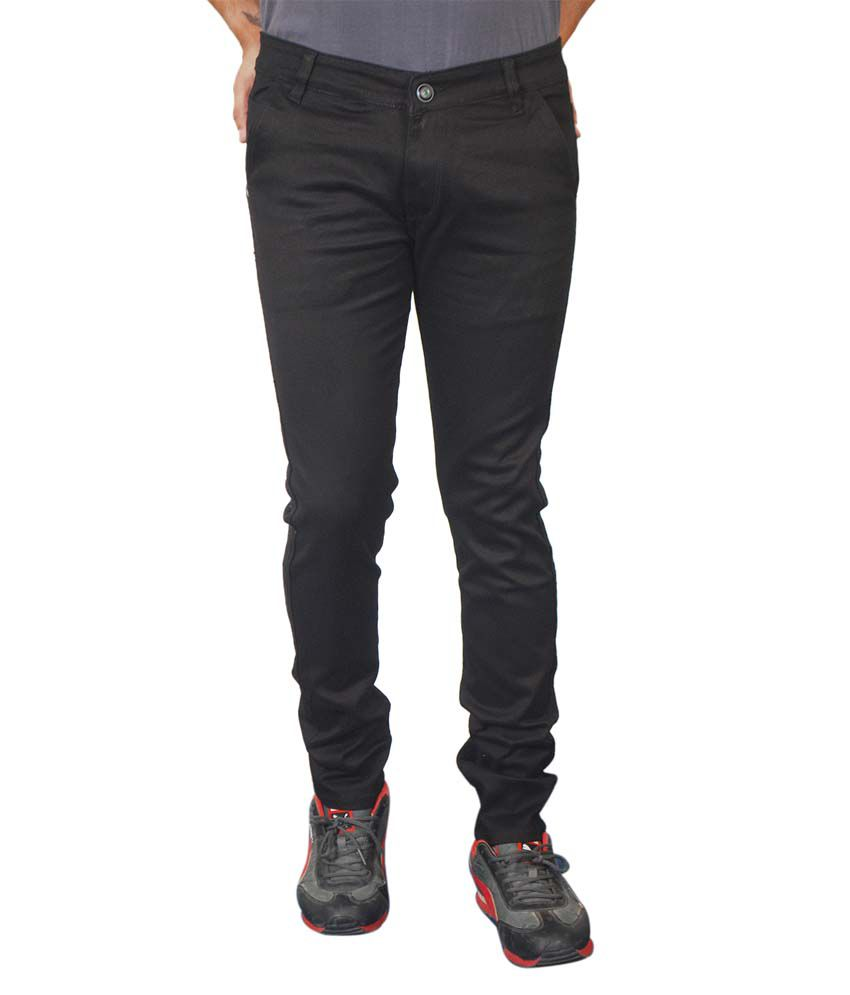 Paranoid Black Slim Fit Jeans