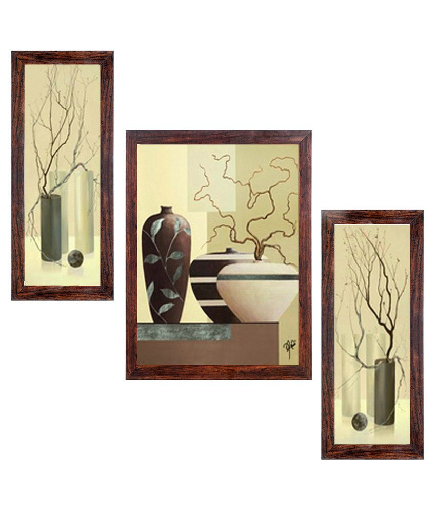 Ray Decor Abstract Wall Painting With Frame: Buy Ray Decor Abstract ...