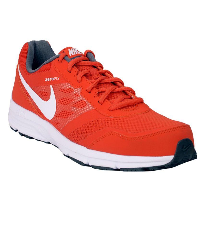 24b71e128 Nike AirRelentless 4 MSL TMOrange White Men Sports Shoes - Buy Nike  AirRelentless 4 MSL TMOrange White Men Sports Shoes Online at Best Prices  in India on ...