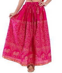 Decot Paradise Cotton A-Line Skirt