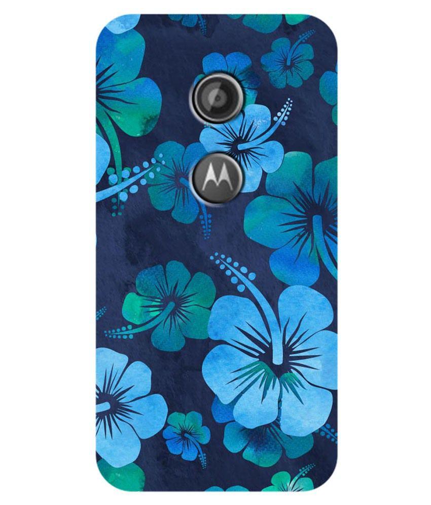 new concept 74e52 c958e Zapcase Printed Back Cover For Motorola Moto E2 - Multicolor