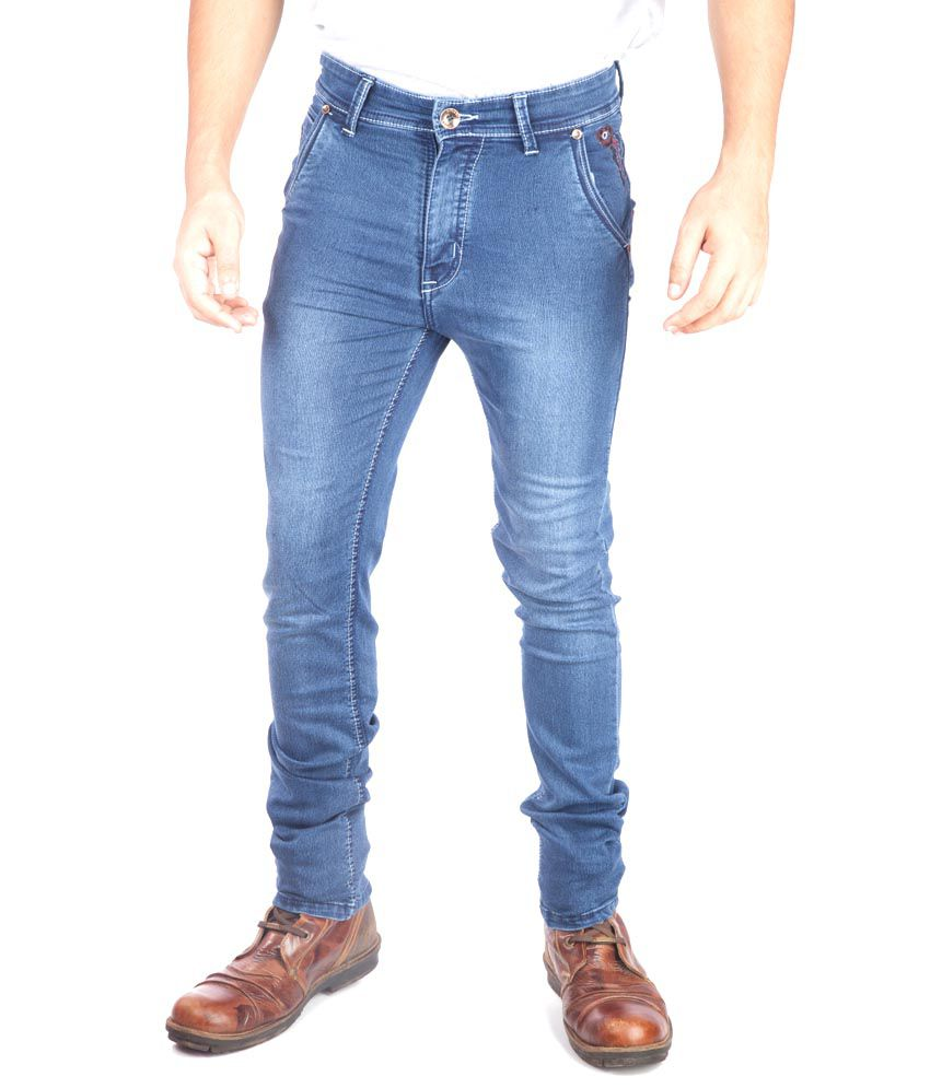 A Flash Blue Regular Fit Jeans