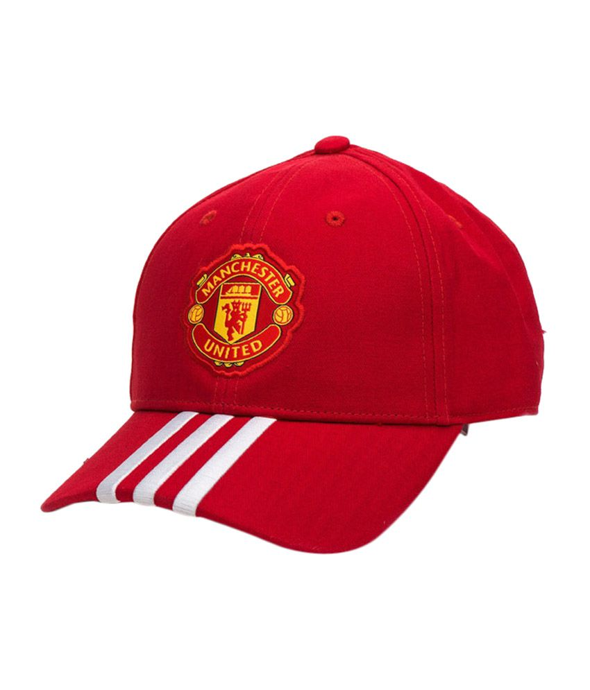 Adidas Manchester United Soccer Cap - Red - Buy Online   Rs.  663b3472ace
