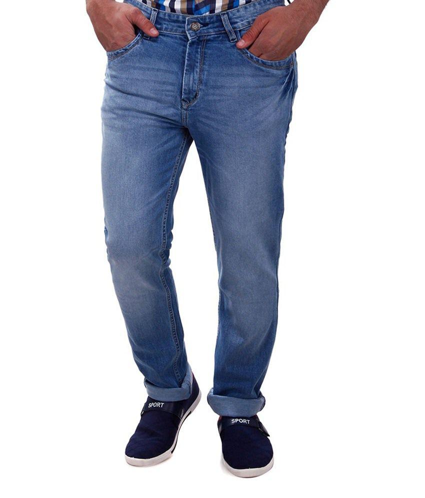 Nagu Blue Regular Fit Jeans