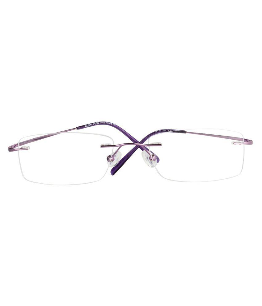 6fb3b1081bc2 Odyssey Purple Rimless Frame-Eyeglasses Odyssey Purple Rimless Frame- Eyeglasses ...