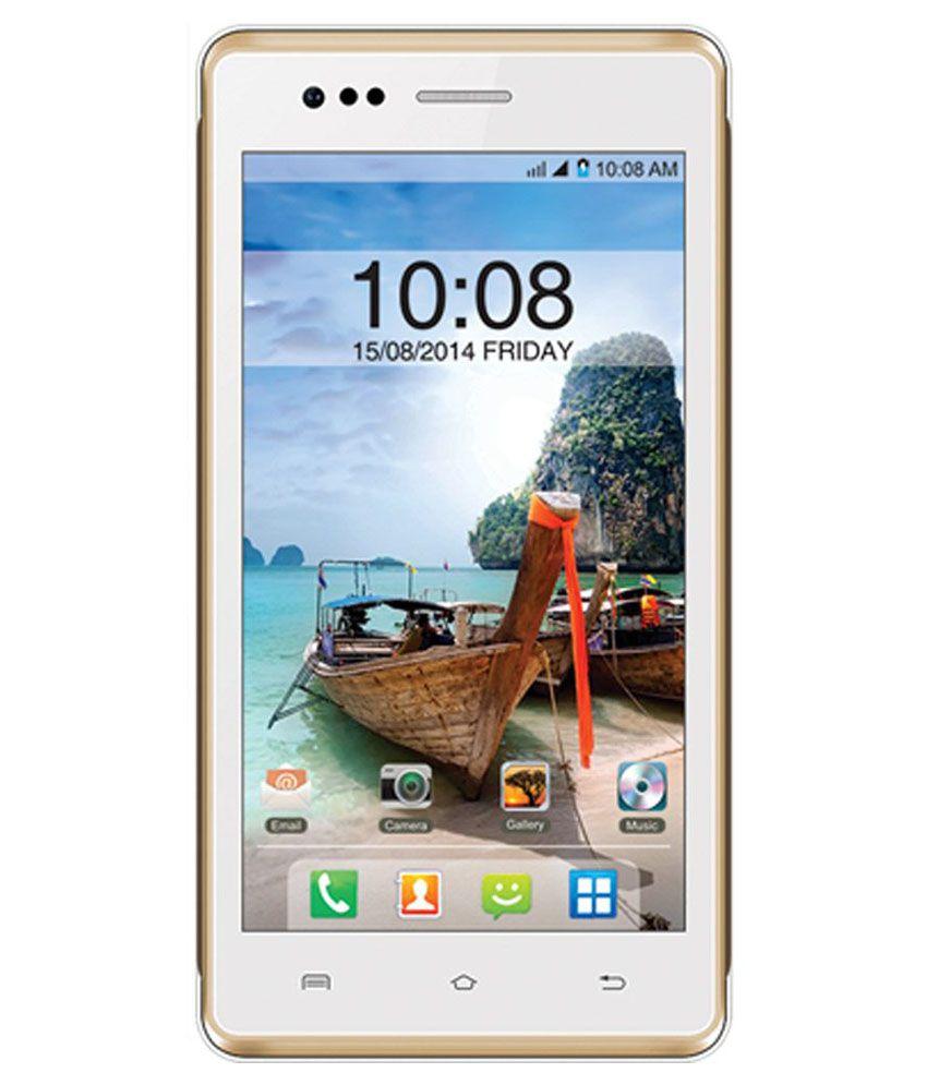 Intex aqua 4.5e ( 8GB , 512 MB ) White