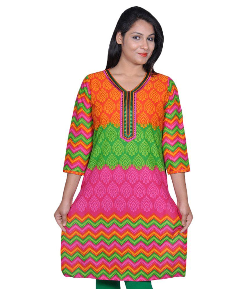 Kurti Creation Multi Cotton Kurti