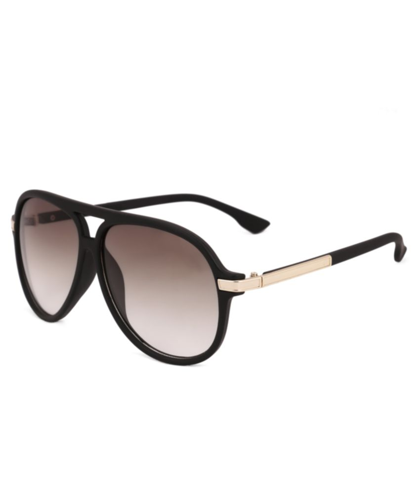 Royal Son Black Square Sunglasses