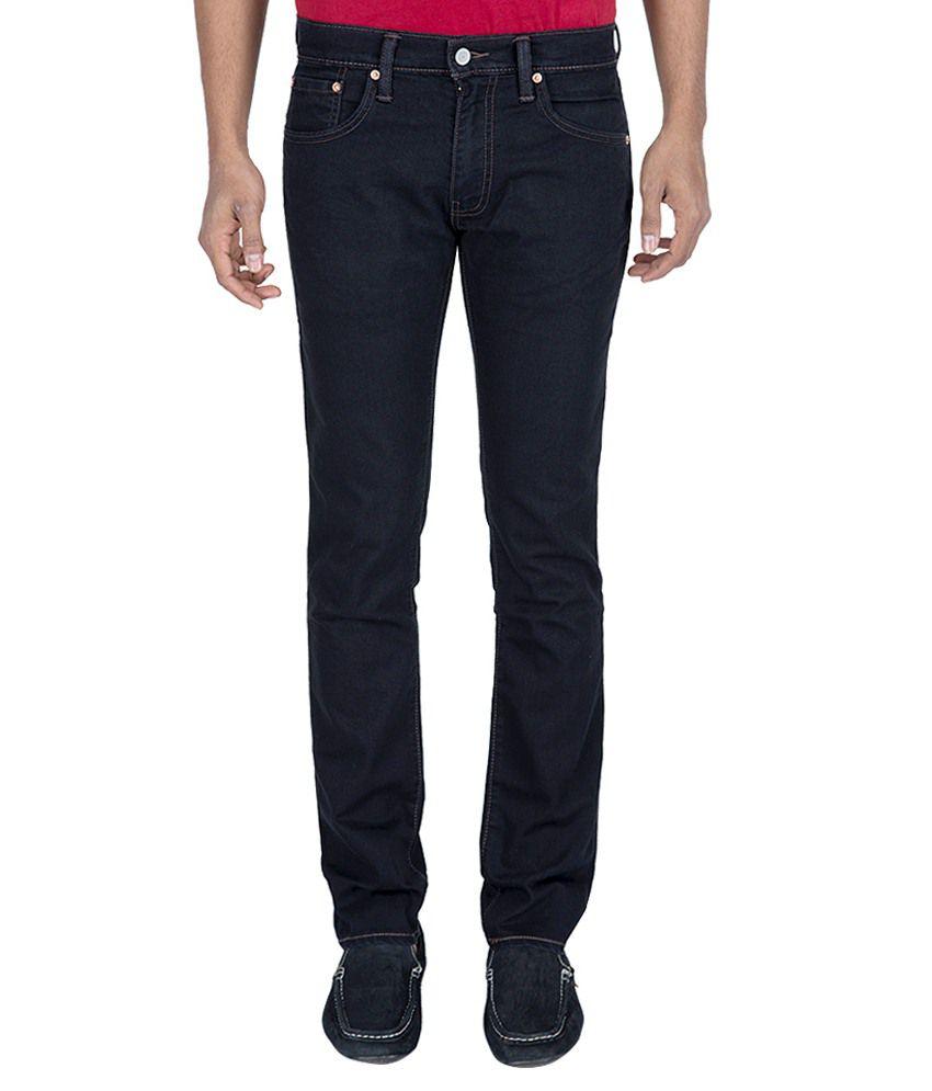 Levi'S Black Skinny Fit Jeans