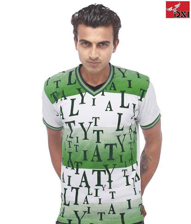 DXI Green Cotton T-Shirts
