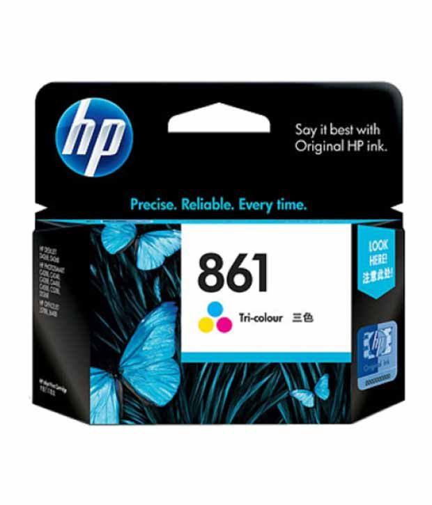 HP 861 Tricolor Ink Cartridge  CB337ZZ