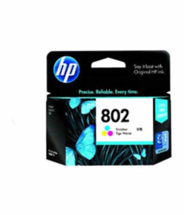 HP 802 Large Tricolor Ink Cartridge  CH564ZZ