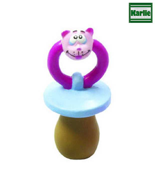 Latex Pacifier Dog Toy