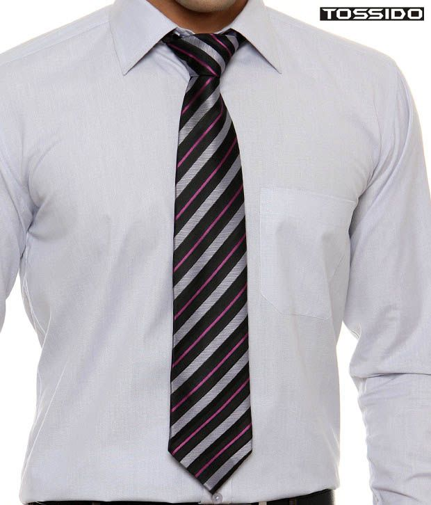 Tossido Spectacular Striped Tie