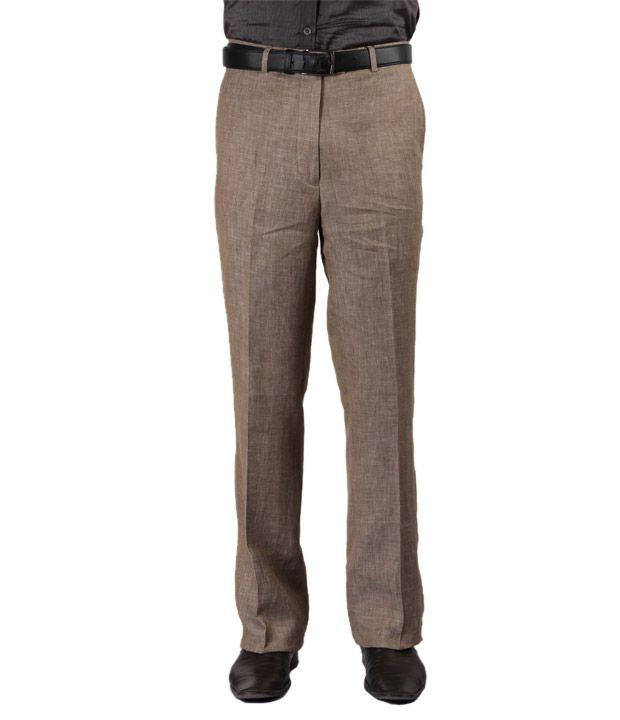 La Miliardo Modish Brown Trousers