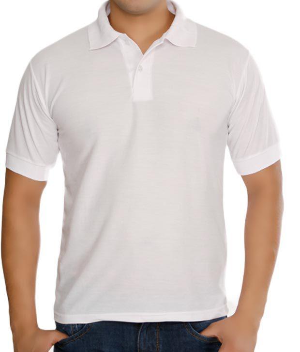 plain white polo shirts