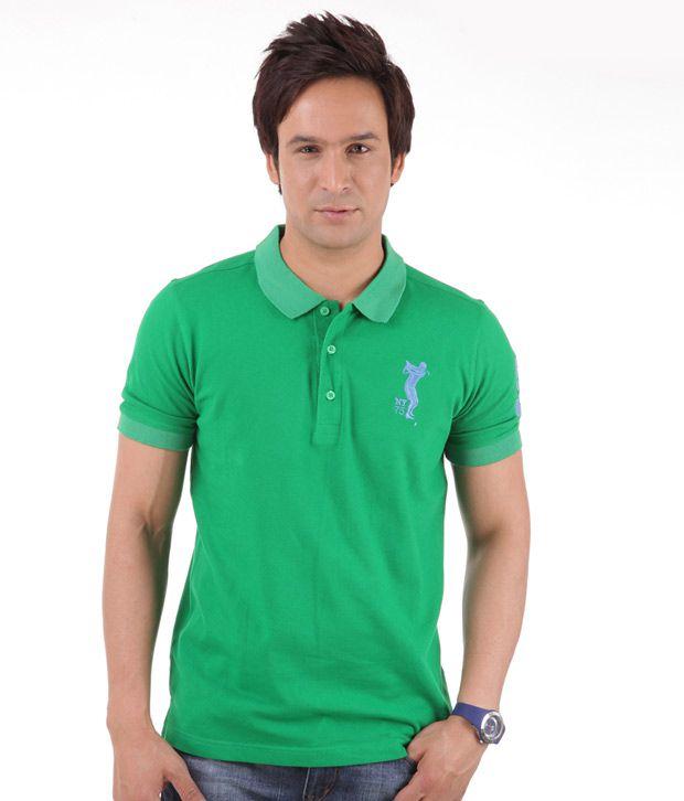 Yepme Classic Parrot Green T-Shirt