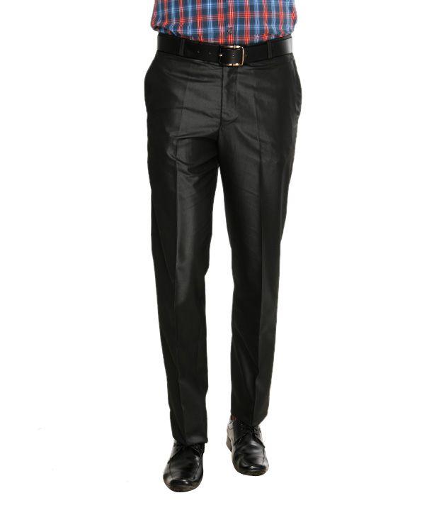 Viggo Graceful Deep Grey Trousers