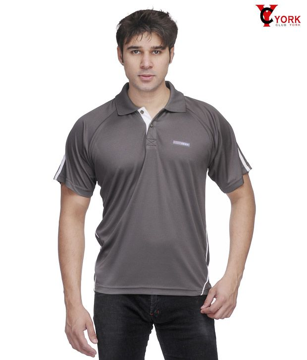 Club York Classic Dark Grey T-Shirt
