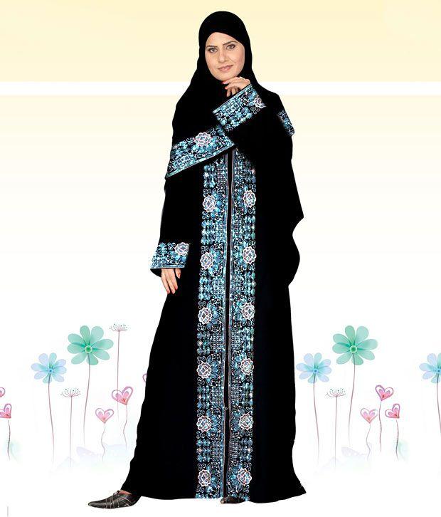 Triveni Beautiful Unstitched Burqa