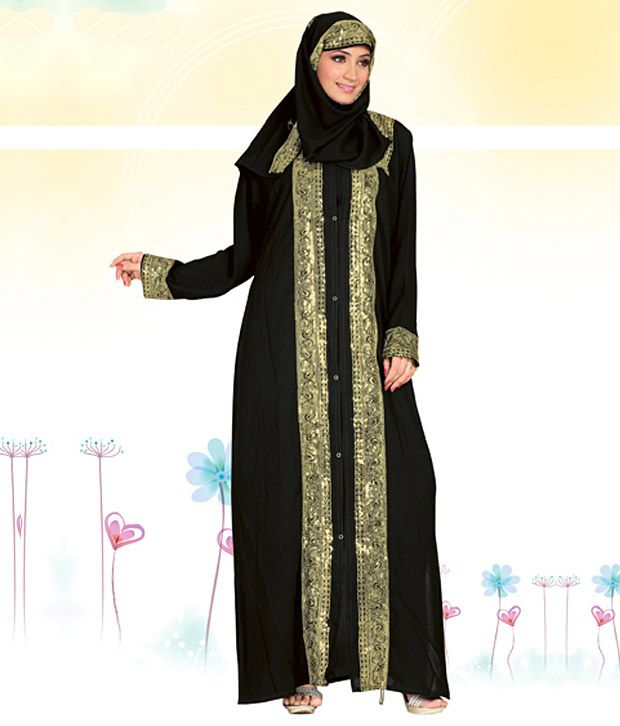 Triveni Elegant Unstitched Burqa