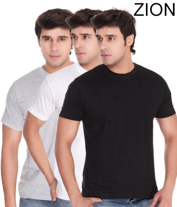 Zion Super Classic T-Shirt (Combo of 3)
