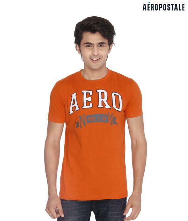 Aeropostale NY Orange T-Shirt