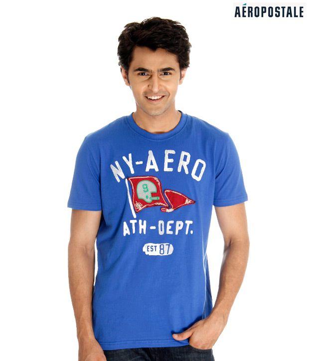 Aeropostale NY Royal Blue T-Shirt