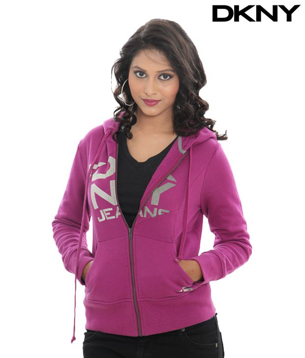 DKNY Ultra Violet Zip Jacket