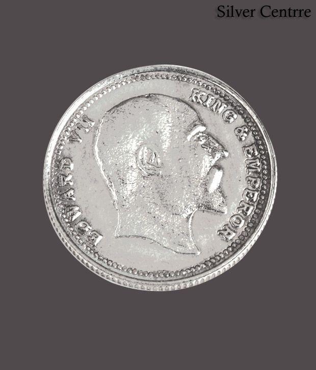 Silver Centrre King & Emperor Edward VII Silver Coin - SC 106