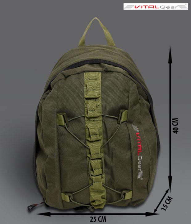 Vital Gear Peace Maker Green Backpack