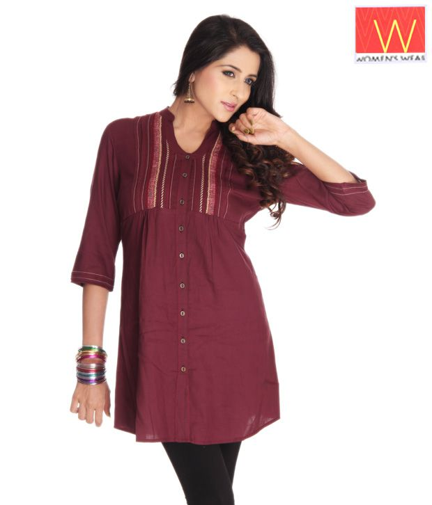 W Wine Ethnic Top