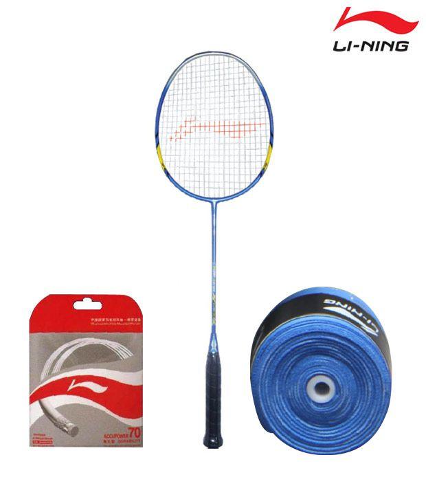 Li-Ning SS 98 Badminton Racquet + Li-Ning String AP-70 + Li-Ning Grip GP-13