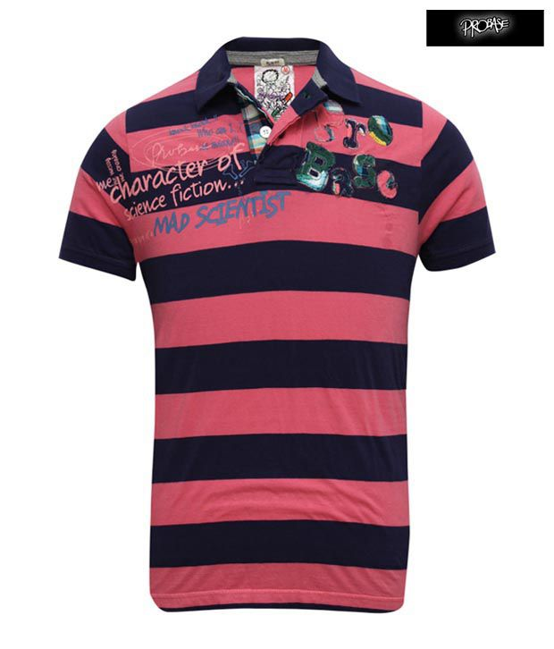 PROBASE Polo T-Shirt 10PTS24351-PK-HS