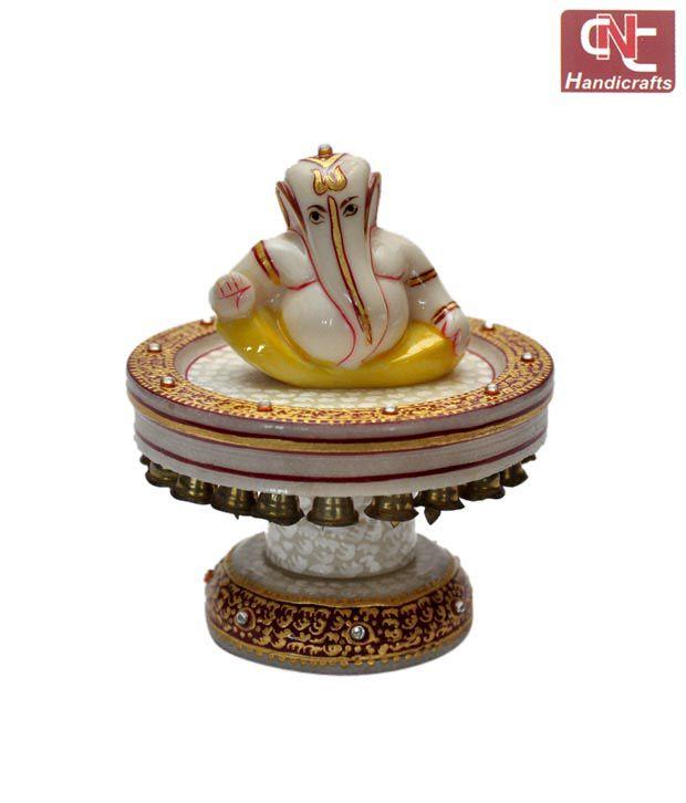 Craft N Craft Marble Revolving Ganesha