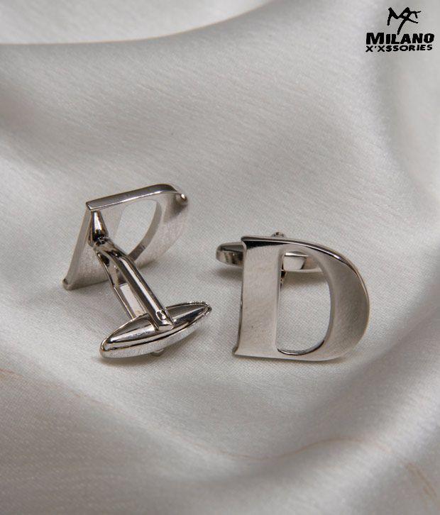 Milano X'xssories Alphabet D Cufflink
