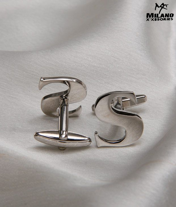 Milano X'xssories Alphabet S Cufflink