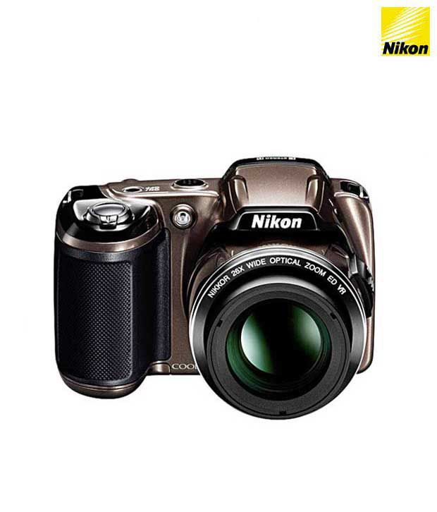 Nikon Coolpix L810 16.1MP Semi SLR (Bronze)