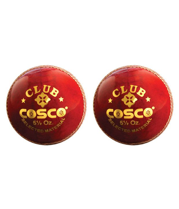 Cosco Club Leather Ball (Pack Of 2)