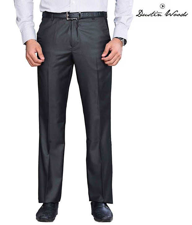 Dustin Wood Formal Black Trouser