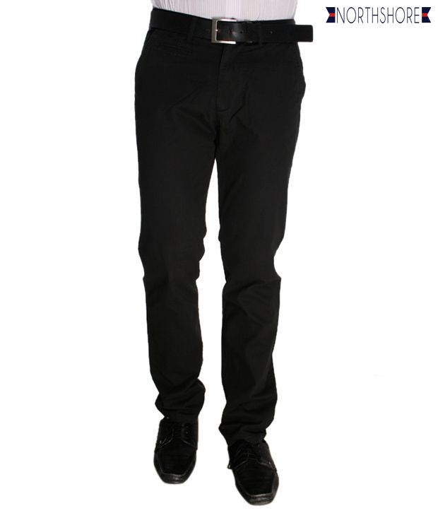 North Shore Black Trouser