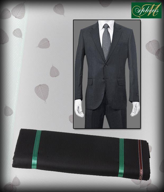 Morpheus Fashionable Black Suit Length