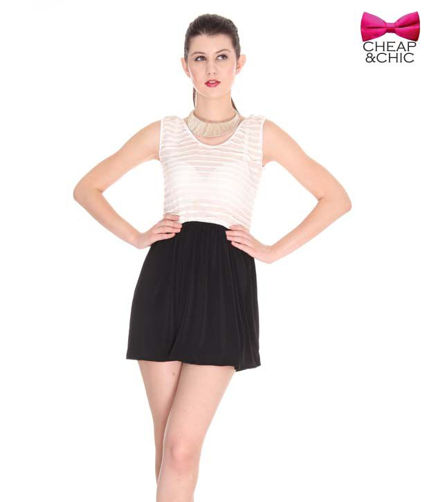 Cheap & Chic Fabulous Black Dress