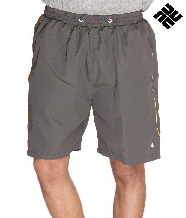 NU9 Stylish Grey Shorts