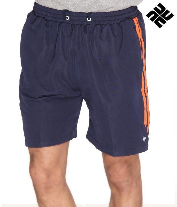 NU9 Stylish Navy Blue Shorts
