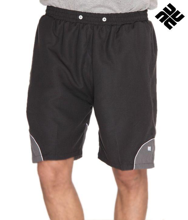 NU9 Trendy Black Shorts