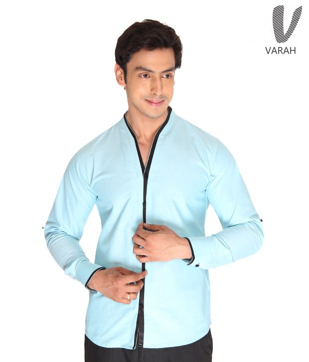 Cotton Shirt Sky Blue  Cotton Shirt