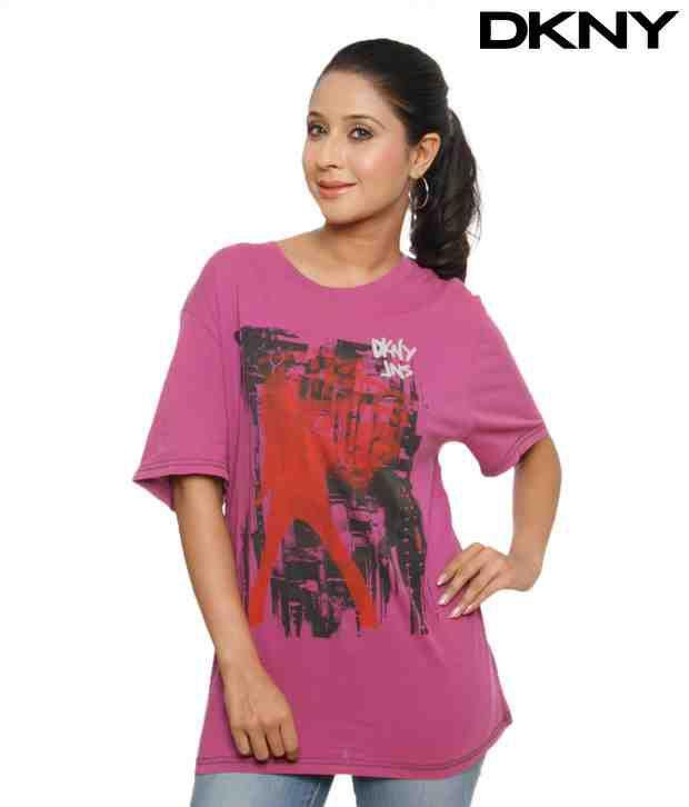 DKNY Cool Violet T-Shirt