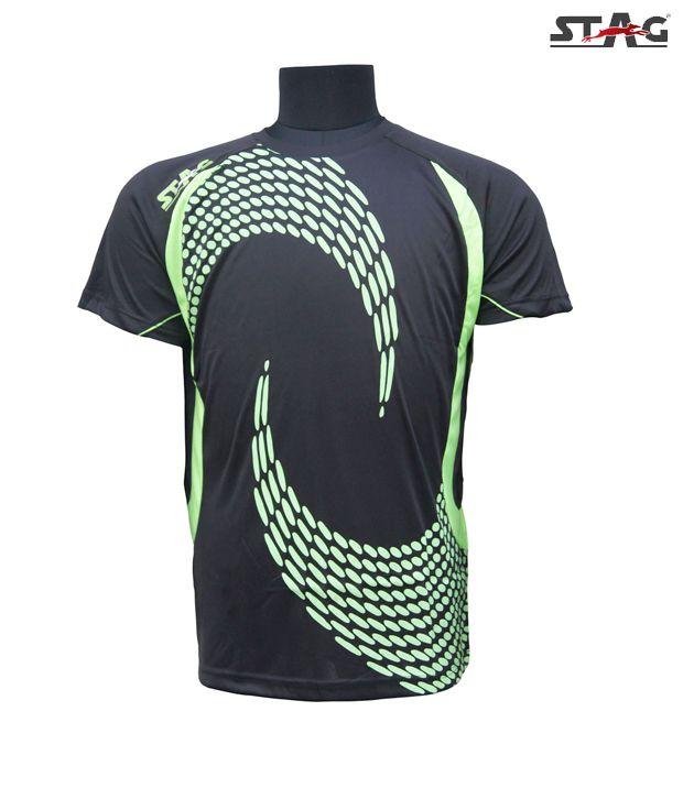 Stag Black Toss T-Shirt